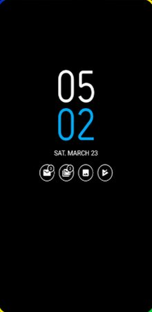 Always On AMOLED