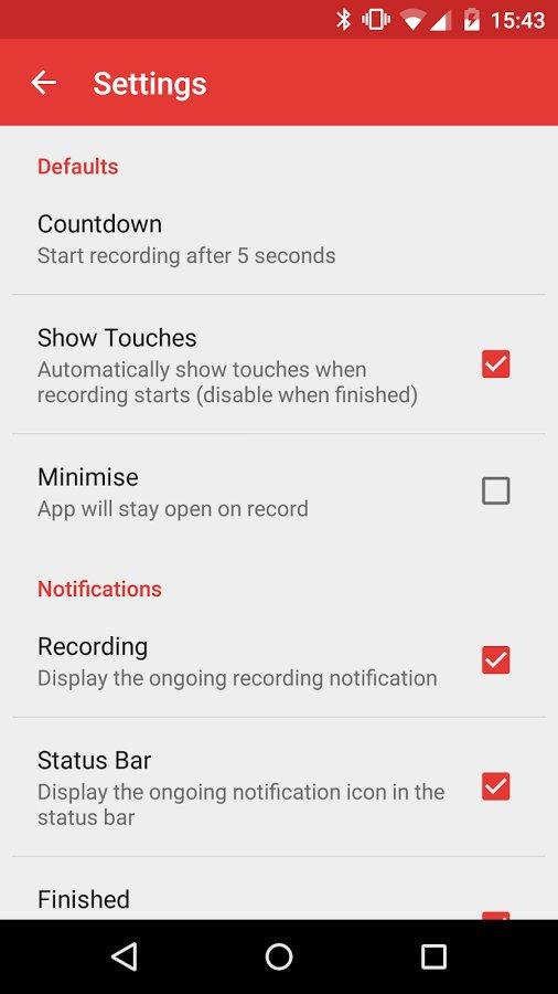 Скачать приложенья для снятия видео экрана на андроид