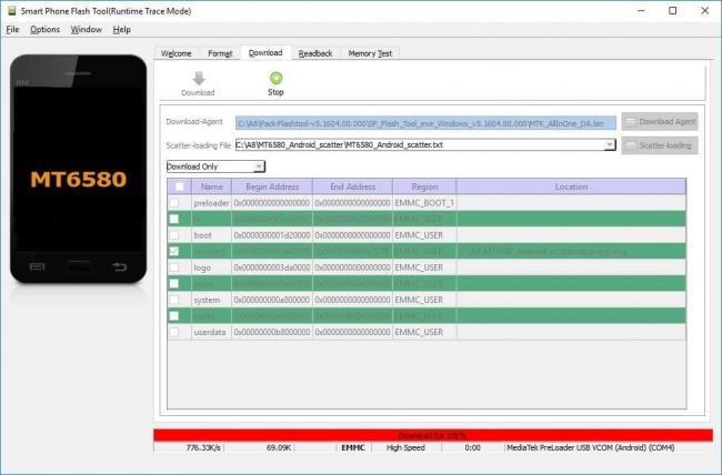 Разблокируем графический ключ на китайских телефонах с процессором MTK