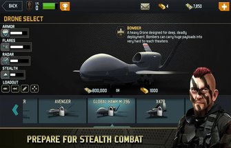 Игра Drone Shadow Strike на Андроид