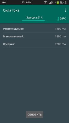 Galaxy Charging Current Pro на Андроид