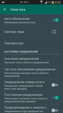 Приложение Galaxy Charging Current Pro на Андроид