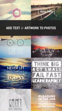 Over: Edit Add Text to Photos на Андроид