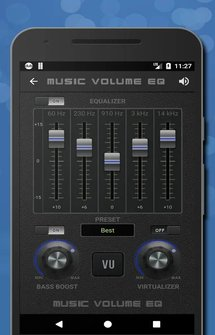 Приложение Music Volume EQ-Sound Bass Booster Equalizer на Андроид