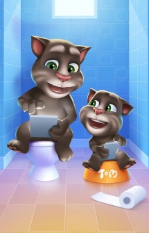 My Talking Tom игра на Android