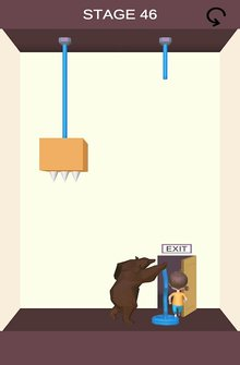 Rescue Cut - Rope Puzzle