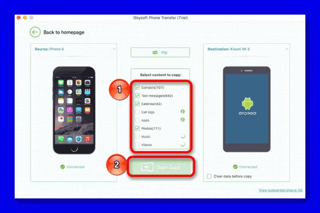 iSkysoft Phone Transfer