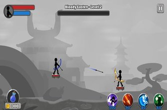 Игра Stickfight Archer