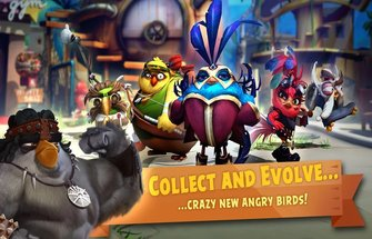 Angry birds: Evolution для Андроид