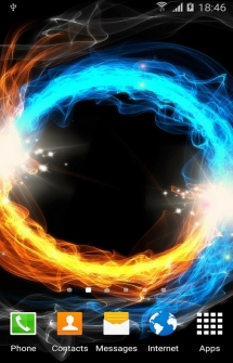 Fire and Ice живые обои на Android