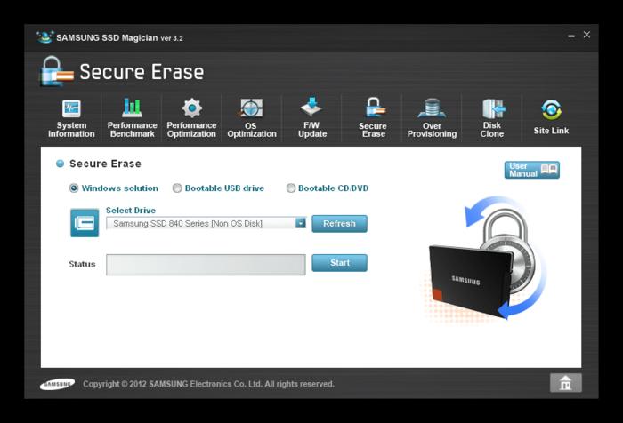 Восстановление данных с отформатированного SSD